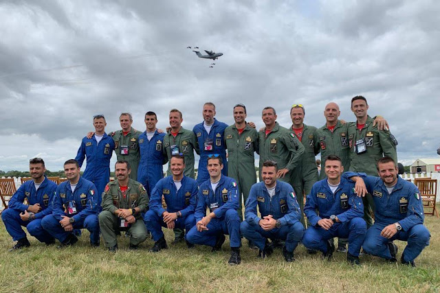 Frecce Tricolori premiate Air Tattoo