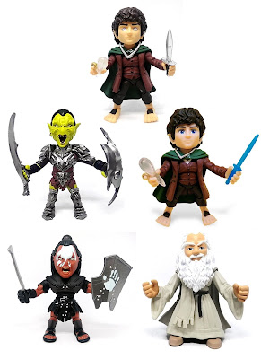 San Diego Comic-Con 2020 Exclusive The Lord of the Rings Action Vinyls Figures by The Loyal Subjects
