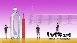 Hellominju.com: ハイキュー!! アニメ   白鳥沢学園アイキャッチ 第3期 天童 覚   大平獅音   瀬見英太   Haikyū!! Commercial Break    Hello Anime !