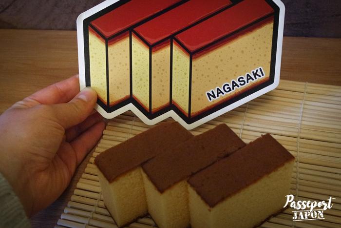 Gotochi card challenge, castella, Nagasaki