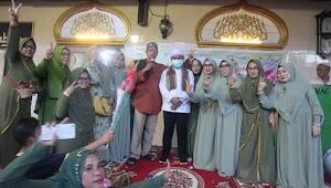 Hadiri Peringatan Maulid Nabi, Calon Wakil Walikotanya SSK 'Ditahan' Jammah Awabyin untuk Swafoto