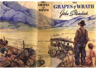 a look at the grapes of wrath by john steinbeck About john steinbeck john steinbeck, born in salinas, california, in 1902, grew up in a fertile agricultural valley, about 25 miles from the pacific coast both the valley and the coast would serve as settings for some of his best fiction.