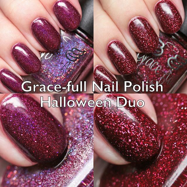 Grace-full Nail Polish Halloween Duo
