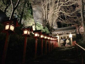 貴船神社 夜間拝観