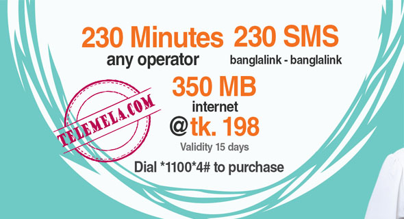 Banglalink 198Tk Bundle offer