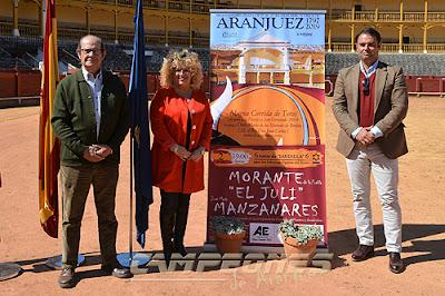Toros Aranjuez Morante Juli Manzanares