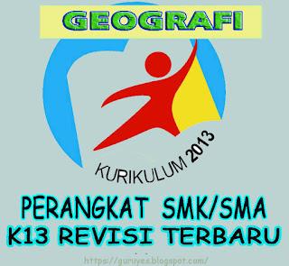 RPP Kurikulum 2013 Geografi kelas 10 SMA/SMK  Revisi 2018