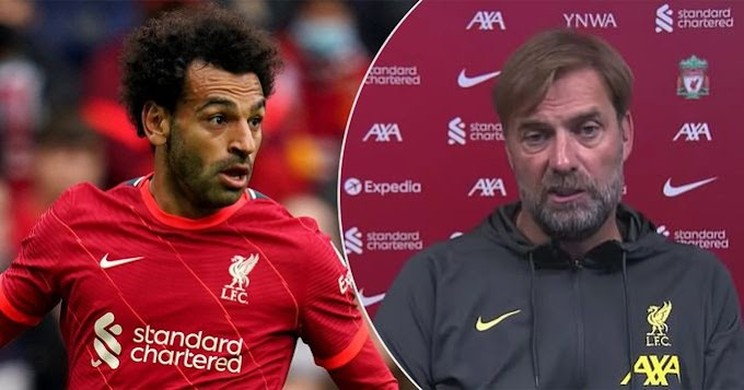Jurgen Klopp explains why he has 'nothing new to say' about Mo Salah contract talks