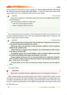 9. Sınıf Din Kültürü Ders Kitabı Cevapları Nev Yayınları Sayfa 16