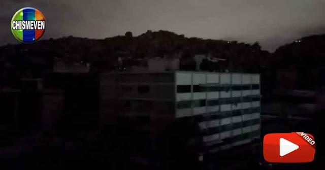 NOCHE DE TEROR | Régimen provoca apagón en la Cota 905 y El Cementerio