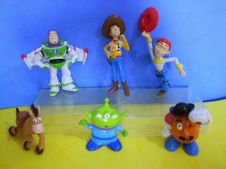 Jual Hiasan Kue Ulang Tahun Princess Toys Story Smurf