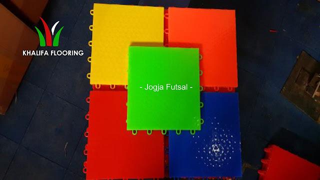 Jual Lantai Lapangan Interlock Futsal Jogja