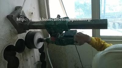 khoan cắt bê tông tại Long An