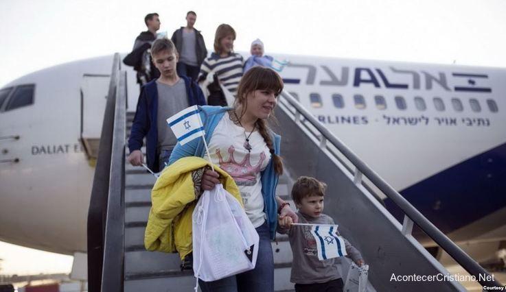 Judíos rusos llegan a Israel