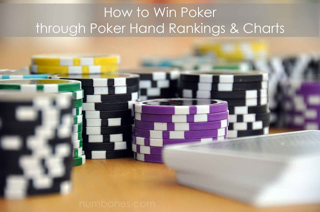 Secret Strategy to Win Poker through Poker Hand Charts & Rankings