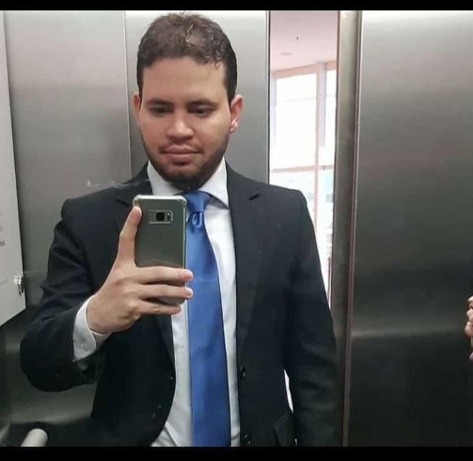 NOVA PERDA PARA O VÍRUS: Procurador elesbonense Samuel Mendes morre aos 29 anos, vítima da Covid-19