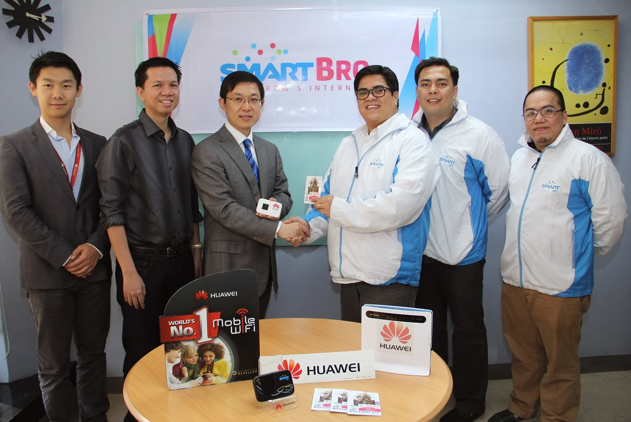 Smart Broadband and Huawei Technologies Philippines