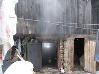 (ФОТО)пожар в посёлке Алтынай