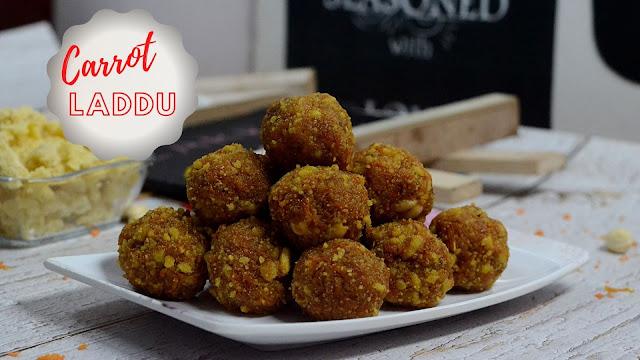 carrot laddu, Gajar ka laddu, Gajar ladoo, கேரட் லட்டு ,carrot laddu recipe- kuzhali samaiyalarai