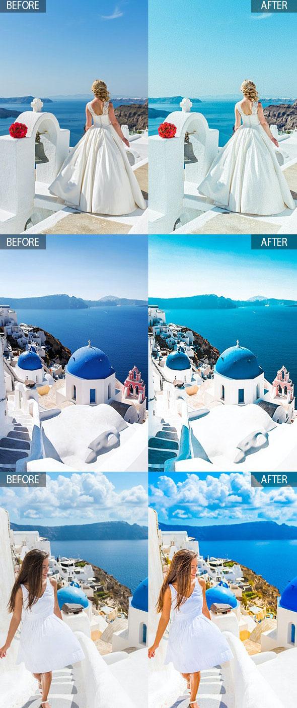 Santorini 15 Premium Lightroom Presets 27933164 Download