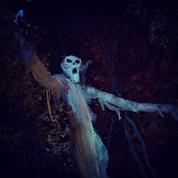 Haunted Overload Ghost Treetop Lee NH_Halloween New England