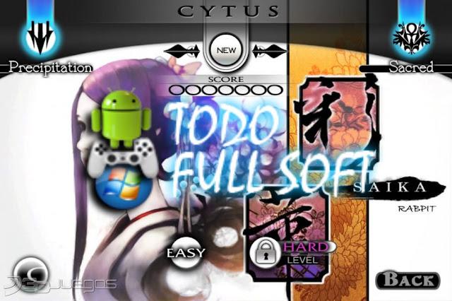 Descarga el juego para android Cytus Full Apk
