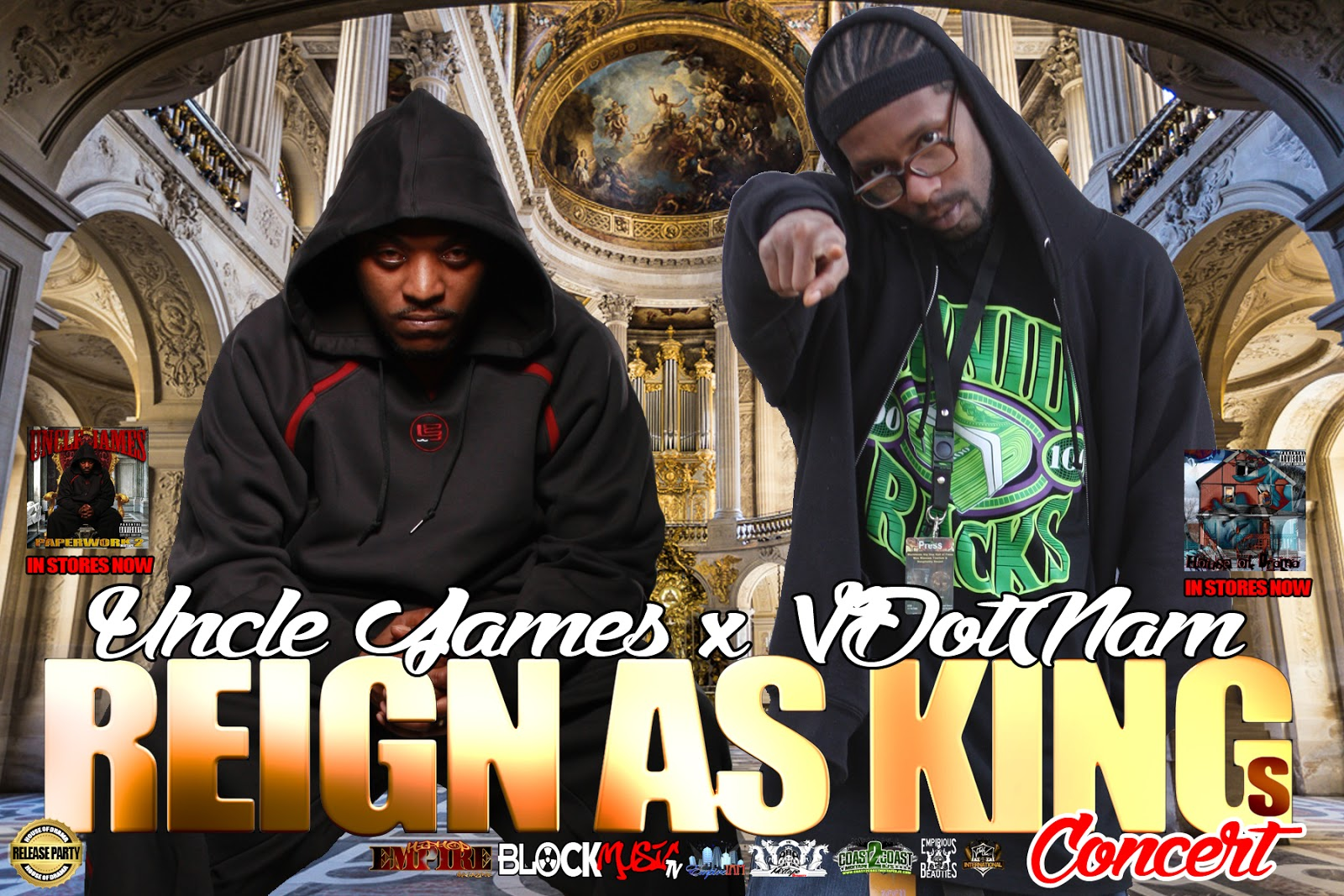 Reign As Kings Concert