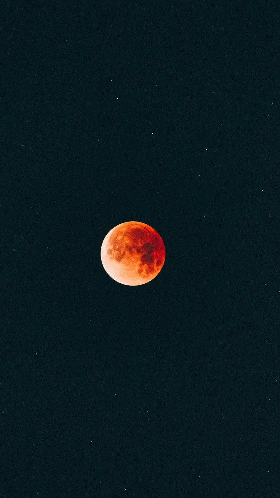Hình nền huyết nguyệt giữa đêm siêu chất