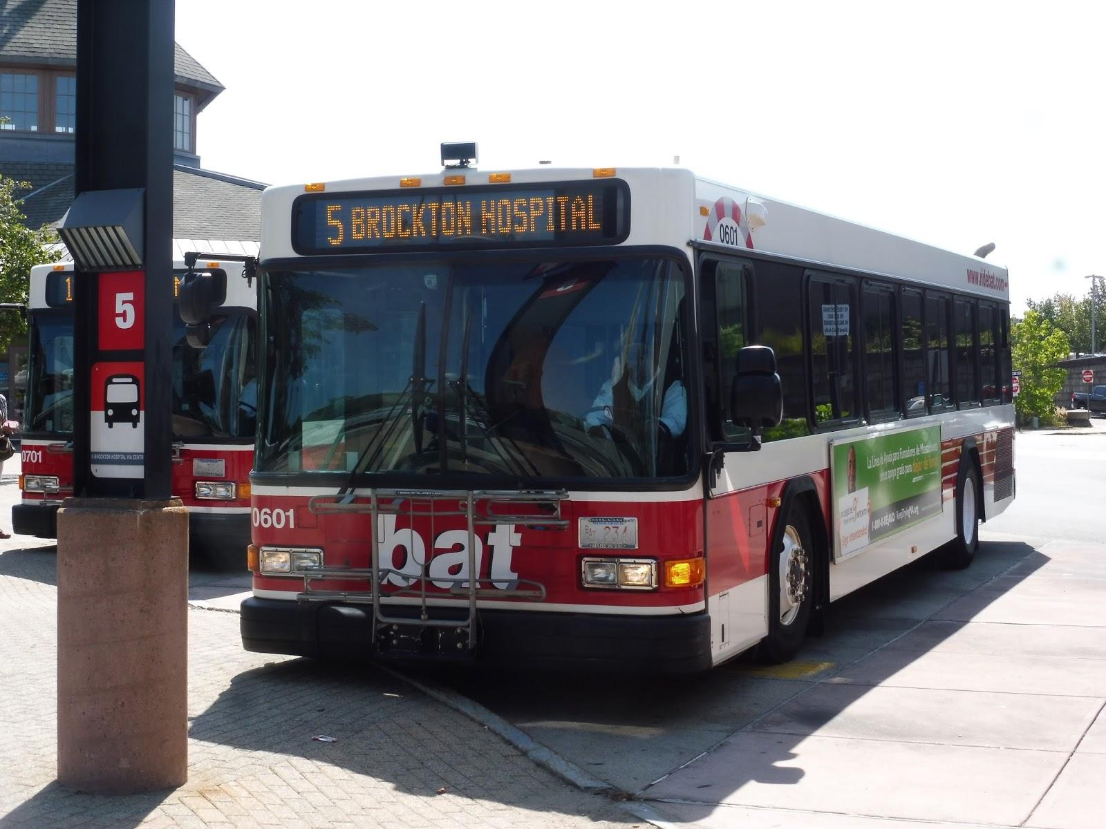 Miles on the MBTA: BAT: Brockton Route 5 (Brockton Hospital