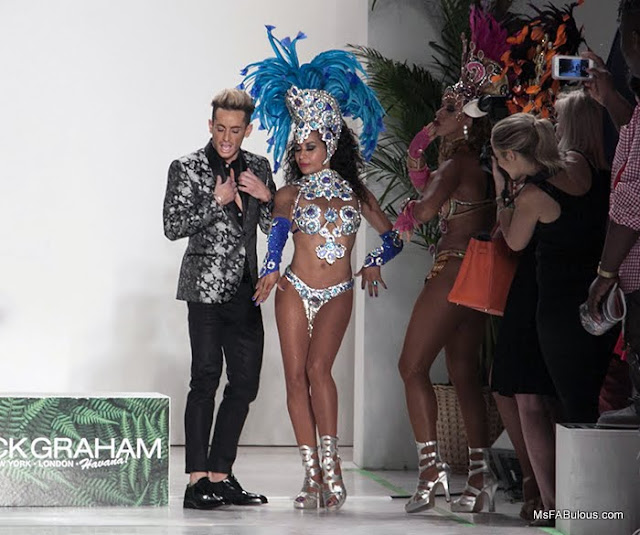 frankie grande fashion week