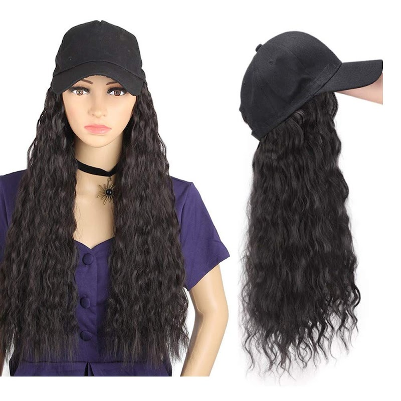 50% OFF 22-inch synthetic wig  in two colors