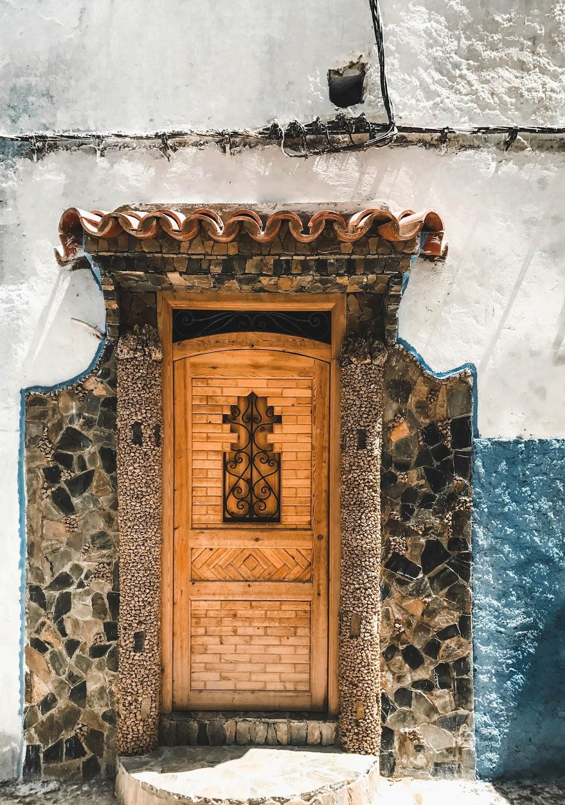 Chefchaouen Morocco Doors