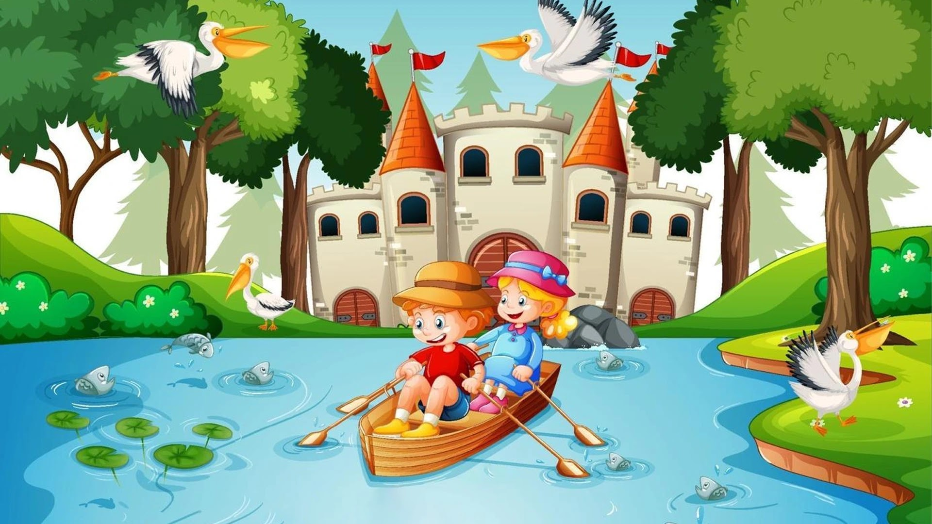 Lightly Row - Children's Music