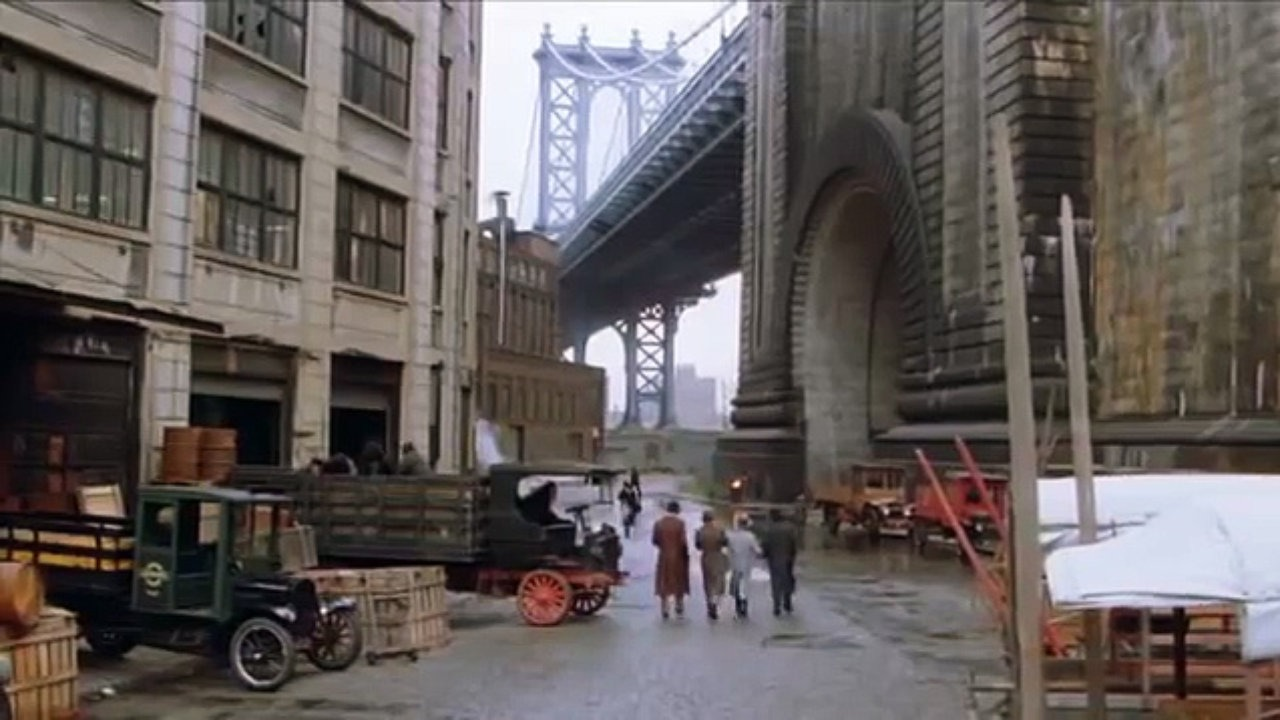 The Manhattan Bridge As Seen From Dumbo An Iconic View Of