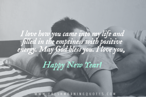 new year wishes to your crush