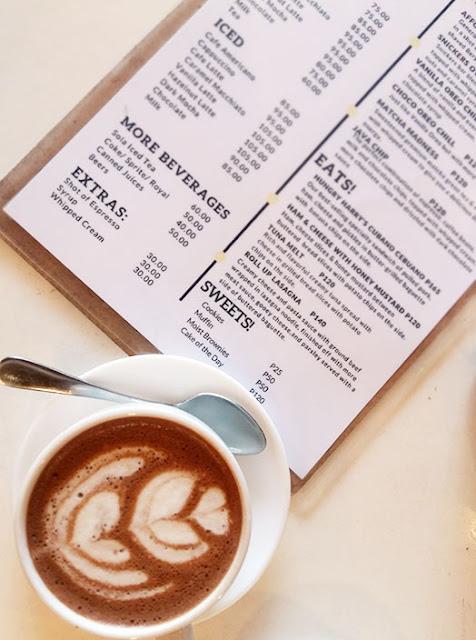 Hot chocolate from UkeHUB Kafe