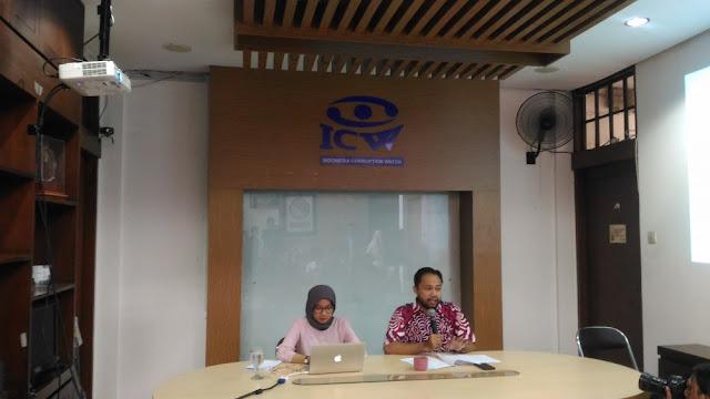 ICW Menduga Penyumbang Terbesar Dana Kampanye Jokowi-Ma'ruf Disamarkan