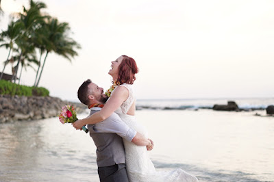 Lanikuhonua Beach Wedding