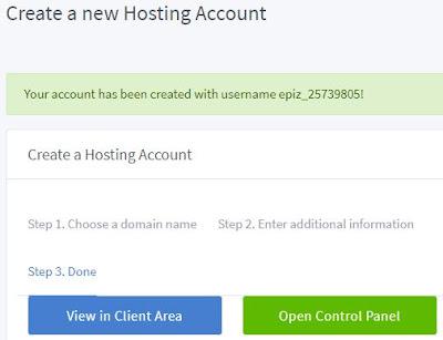 Cara mendapatkan hosting gratis 6