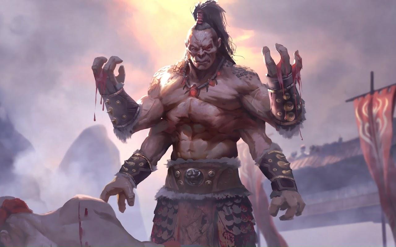 Goro Mortal Kombat 11 4k Wallpaper 265