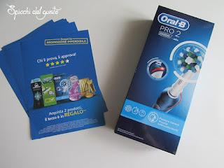 spazzolino elettrico oral b pro2