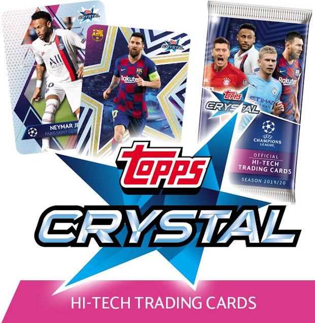 Topps Ligue des Champions Crystal 64-Dani Olmo-Base Carte 2019//2020