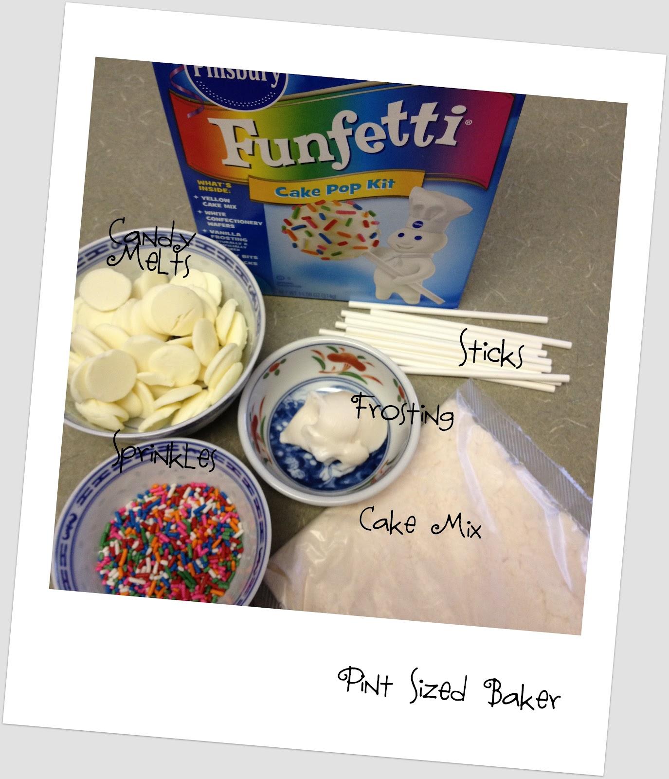 Funfetti Cake Pop Kit