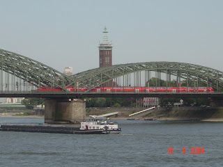 Cologne bridge germany travel