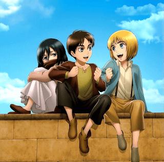 進撃の巨人 アニメ  | エレン ミカサ アルミン 幼少期 |  Attack on Titan Childhood | Hello Anime !