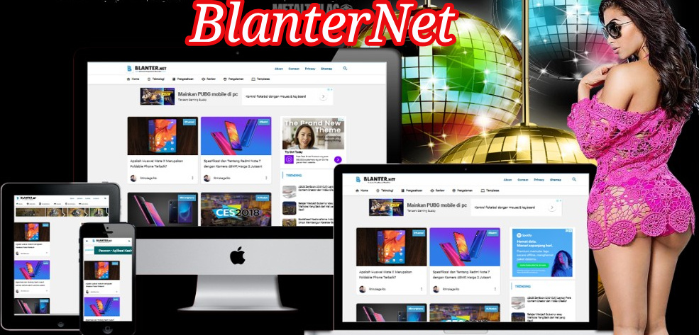 BlanterNet Blogger Template Free Download