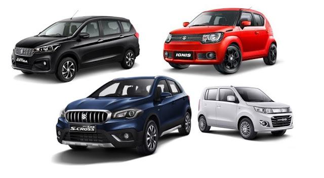 Daftar Pajak Mobil Suzuki  Lengkap