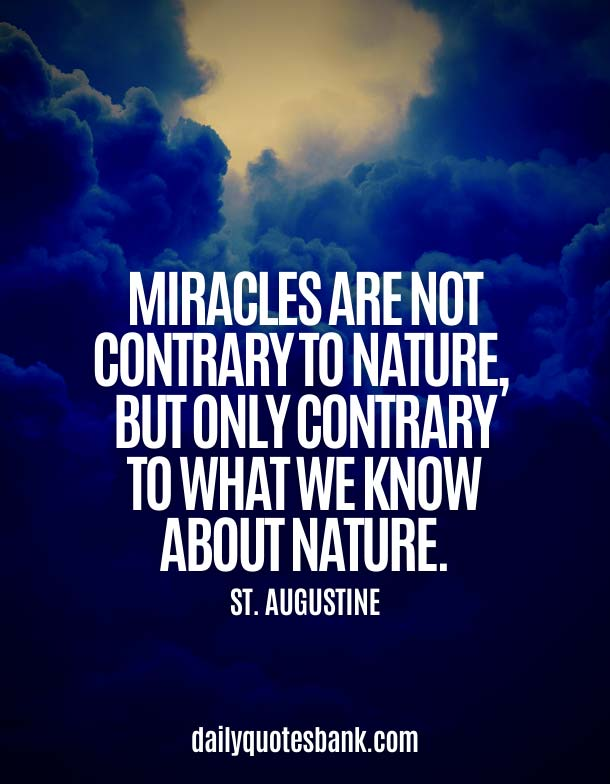 Inspirational Quotes About Miracle Of Life