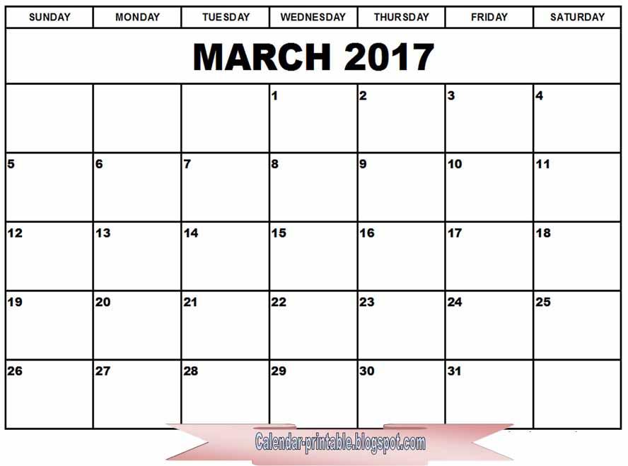 Free Calendar Printables March : Free printable calendar march