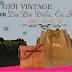 Túi xách vintage da đà điểu thật - hàng độc nhất sài gòn - 0907886787